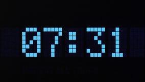 数字式时间读秒