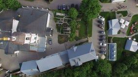 教会在老村庄 股票视频