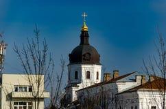 教会和修道院 免版税图库摄影