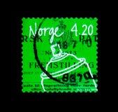 Ærosol kan, norrman Inventionsserie, circa 2000 Arkivbild