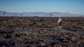 火山口爱达荷纪念碑月亮国民 免版税库存照片