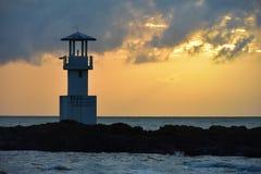 灯塔考・拉克泰国Centara Seaview手段考・拉克 免版税库存照片