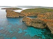科米诺岛海岛 库存照片