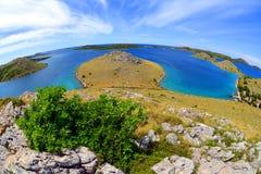 科纳提群岛海岛国立公园,克罗地亚 库存照片