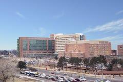 科罗拉多大学医院复合体在丹佛,科罗拉多 库存照片