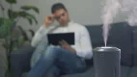 空气润湿器 股票视频