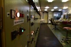 空置发动机控制rrom 免版税库存图片