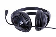 立体声音频耳机 免版税库存照片