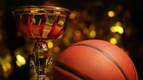 篮球球金杯子hd英尺长度 影视素材