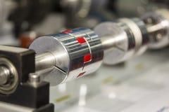 精确度高技术和容易对金属后退自由端连接器快接管箍为工业 库存图片