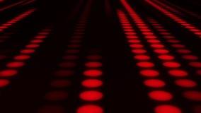 红色氖带领了小点圈子VJ圈行动背景 库存例证