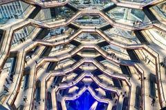纽约,NY - 2019年3月15日:船大厦在哈德森围场曼哈顿打开了 免版税库存照片