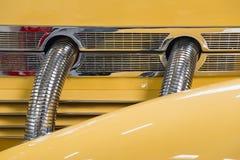 细节黄色绳子812 1937年辛斯海姆 库存图片