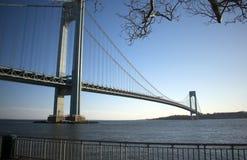 维拉萨诺海峡桥梁-1 免版税库存图片