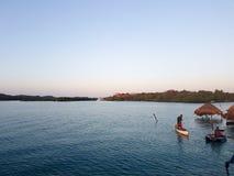 罗萨里奥群岛,哥伦比亚 库存图片