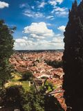 罗马斗兽场在维罗纳 免版税图库摄影