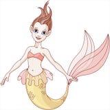 美丽的美人鱼 免版税库存图片
