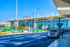 美好的马普托机场外部在莫桑比克 库存照片
