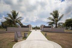 美国纪念公园,塞班岛 免版税图库摄影