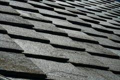 石板屋顶的纹理 免版税库存照片