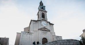 的圣路易斯教会北部塞特港,法国 免版税库存照片