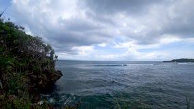 热带海滩的美丽的景色,美丽的海亚洲 影视素材
