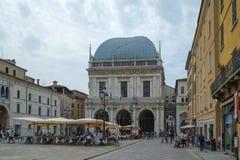 特雷维索市、意大利和它的运河 免版税库存照片