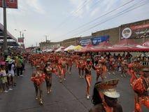 狂欢节哥伦比亚的巴兰基利亚最好 免版税库存图片