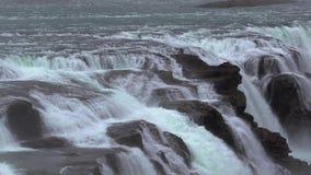 瀑布在冰岛 股票录像