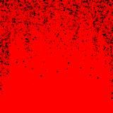 疏散密集的balck小点 黑暗指向分散作用 库存例证