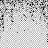 疏散密集的balck小点 黑暗指向分散作用 皇族释放例证