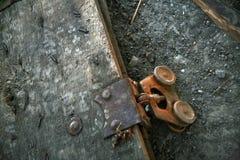 生锈的铸工 库存图片
