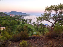 Çamyuva, Kemer, coast and beaches of Turkey Royalty Free Stock Images