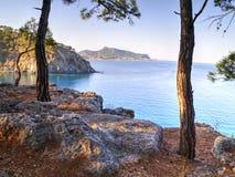 Çamyuva, Kemer, coast and beaches of Turkey Stock Photo