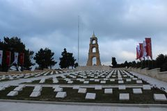 57 Regiment of Cemeteries and Monument stock images