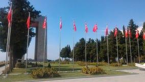 Çanakkale Martyrs Abide. Eceabat / Çanakkale Royalty Free Stock Photos