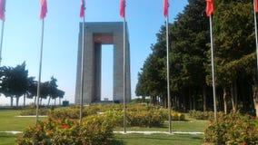 Çanakkale Martyrs Abide. Eceabat / Çanakkale Royalty Free Stock Photo