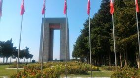 Çanakkale Martyrs Abide. Eceabat / Çanakkale Royalty Free Stock Images