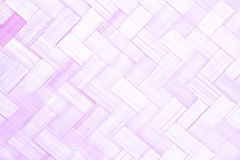 çof bamboo pattern weave for background. Pink of bamboo pattern weave for background Stock Photos