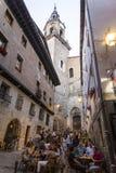 许多人,维托里亚Gasteiz,巴斯克地区,西班牙 库存图片