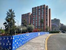 设置居住单位在墨西哥城 库存照片
