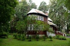 诺贝尔奖得奖人鲍里斯・帕斯捷尔纳克家博物馆在Peredelkino 免版税库存图片