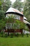 诺贝尔奖得奖人鲍里斯・帕斯捷尔纳克家博物馆在Peredelkino 库存照片
