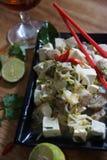 豆腐饮料 免版税库存照片