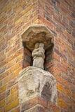 赫尔新哥壁角雕象 免版税库存图片