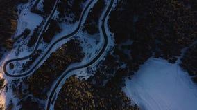 路天线在山的 影视素材