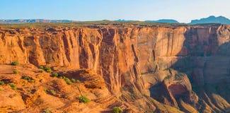 蹄铁湾在大峡谷国家公园,亚利桑那,美国 免版税库存照片