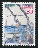 舰队向日本 库存照片
