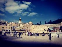 老耶路撒冷 免版税库存照片