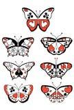 È adatte alle farfalle Immagini Stock